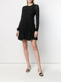 STELLA MCCARTNEY Lace Black Dress