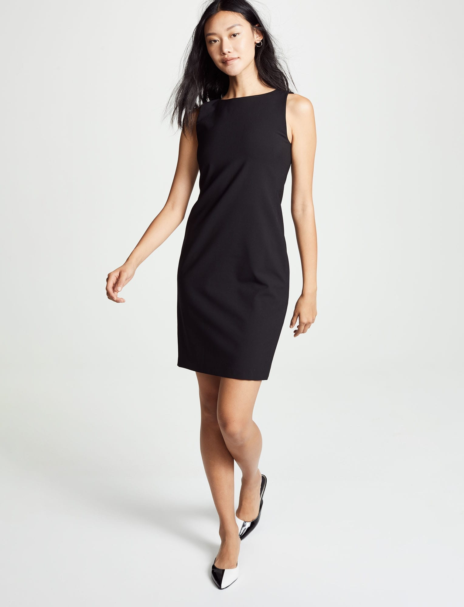 THEORY Betty 2B Black Dress
