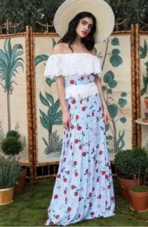Transport Your Style To The Tropics In Rebecca de Ravenel Dresses