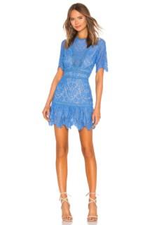 SAYLOR Darian Blue Dress