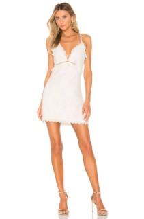 NBD Mariposa Mini Ivory Dress