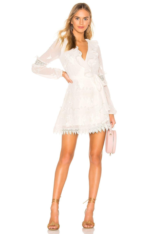 TULAROSA Pixie Ivory Dress