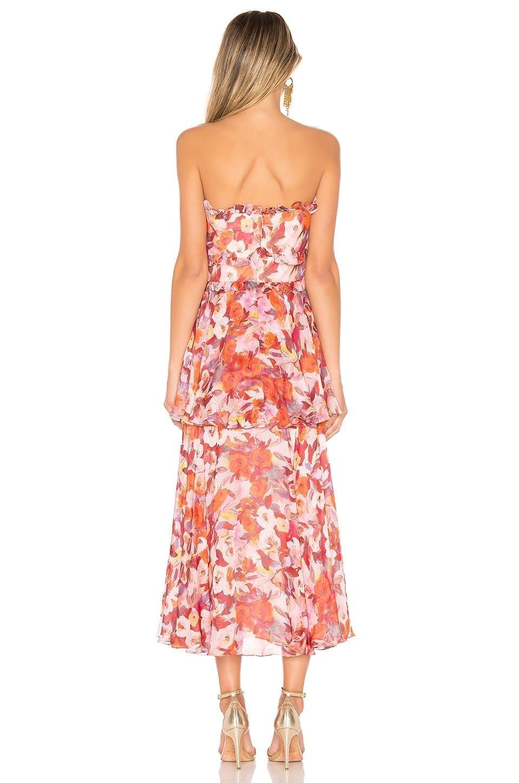 AMUR Darla Rust Dress