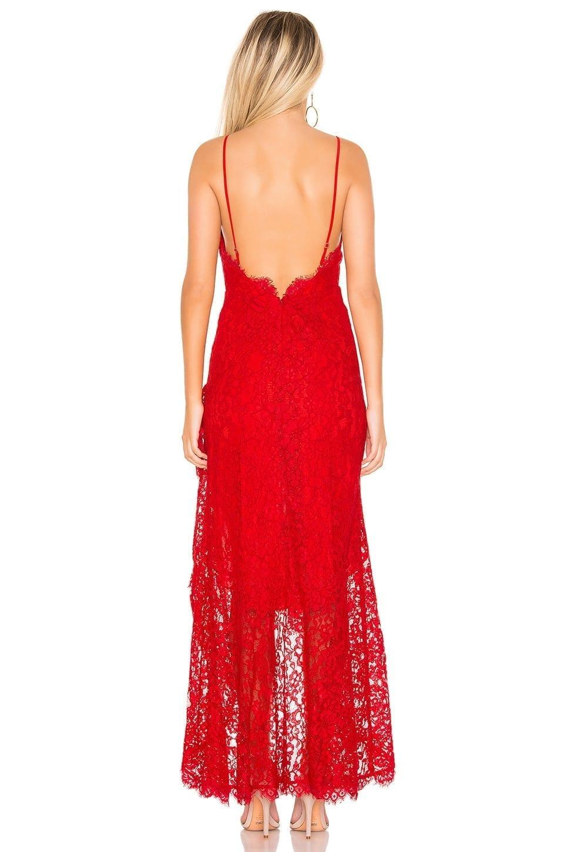 MAJORELLE Antoinette Red Gown