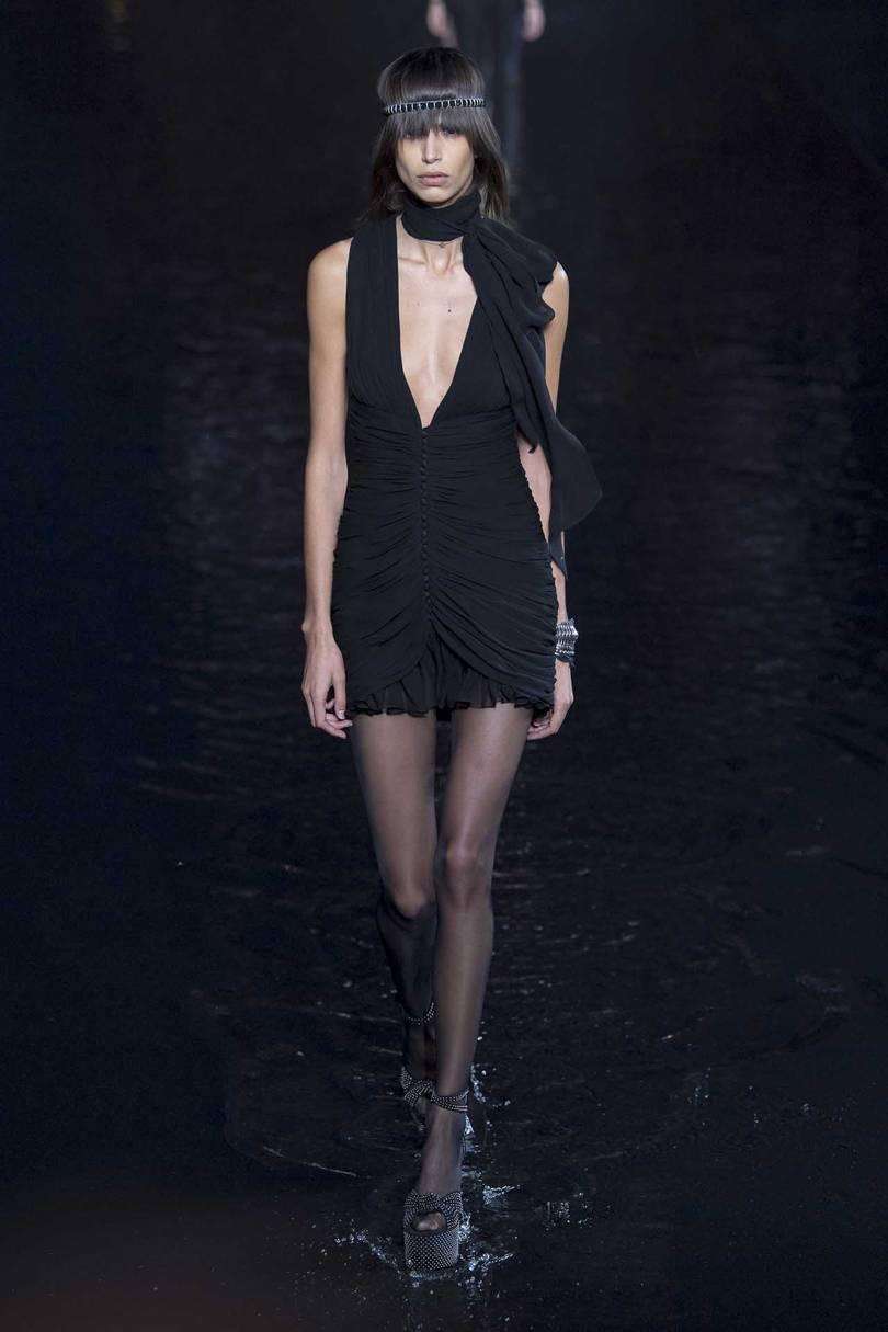 Exude Elegant Simplicity In Classic Saint Laurent Dresses