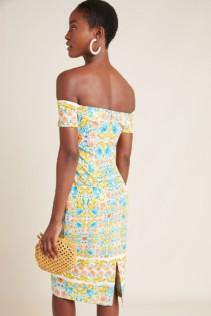 BLACK HALO Bethel Sheath Blue Dress