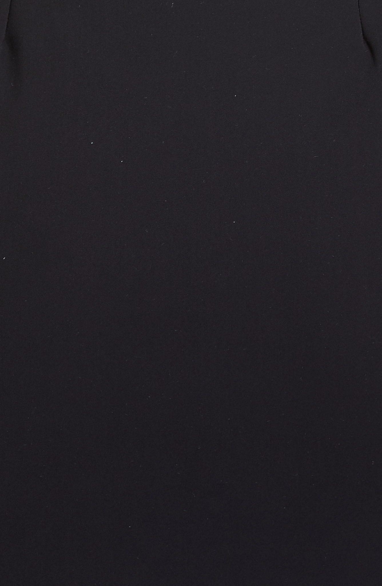 CHIARA BONI LA PETITE ROBE Florien Ruched Evening Black Dress