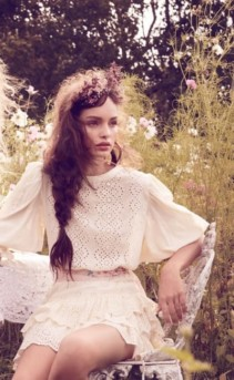 Ethereal White Dresses For A Spring Garden Party