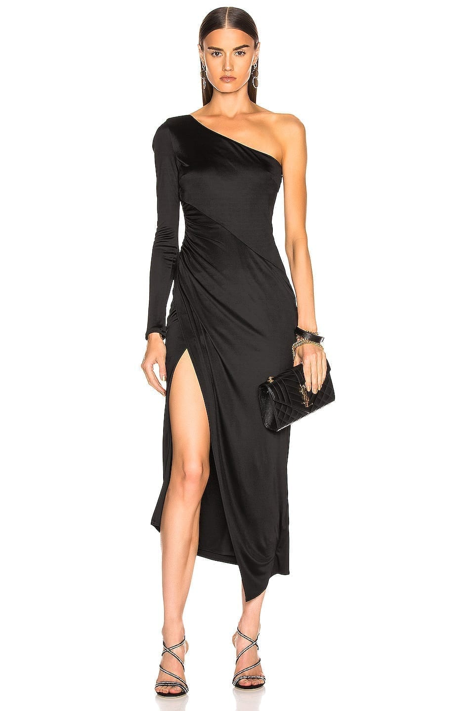 GALVAN Mamounia Black Dress