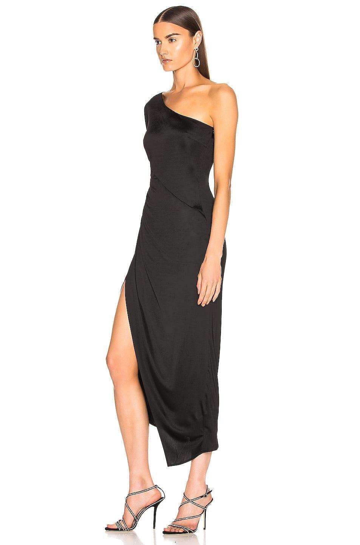 GALVAN Mamounia Black Dress
