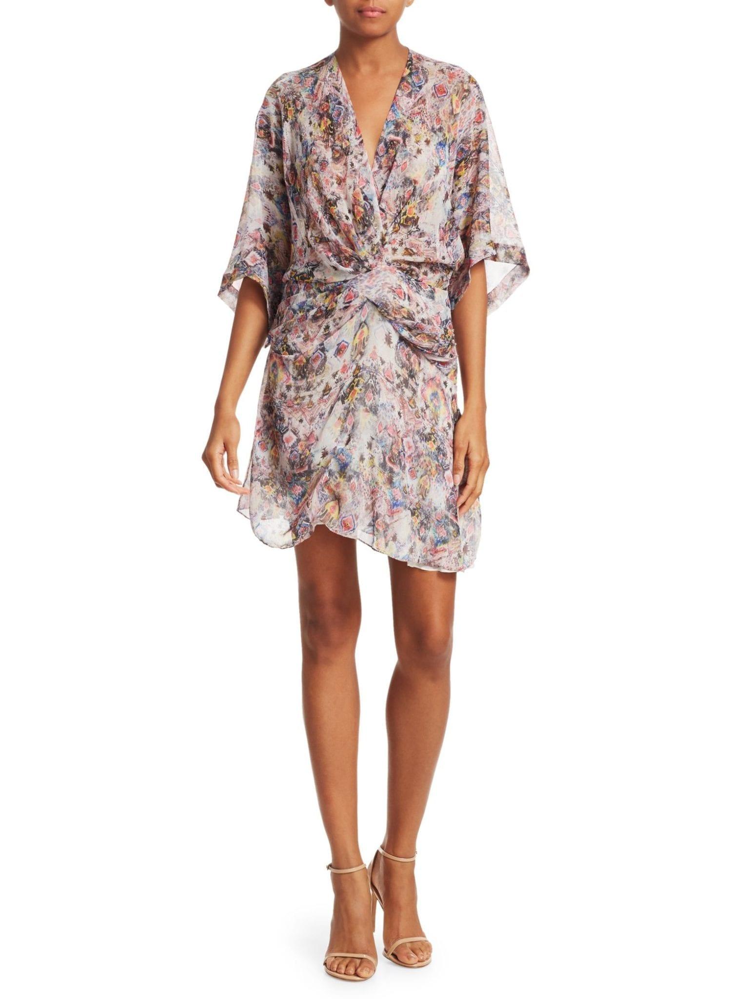 273e78b80d0d IRO Gazania Silk Knot Shift Dress - We Select Dresses