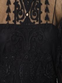 ISABEL MARANT Satia Lace Black Dress