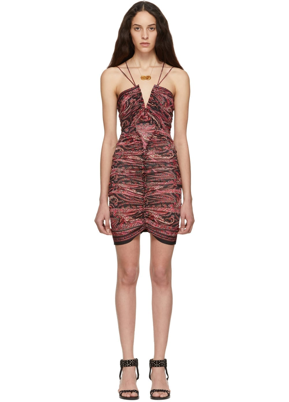 ISABEL MARANT Wilma Red Dress