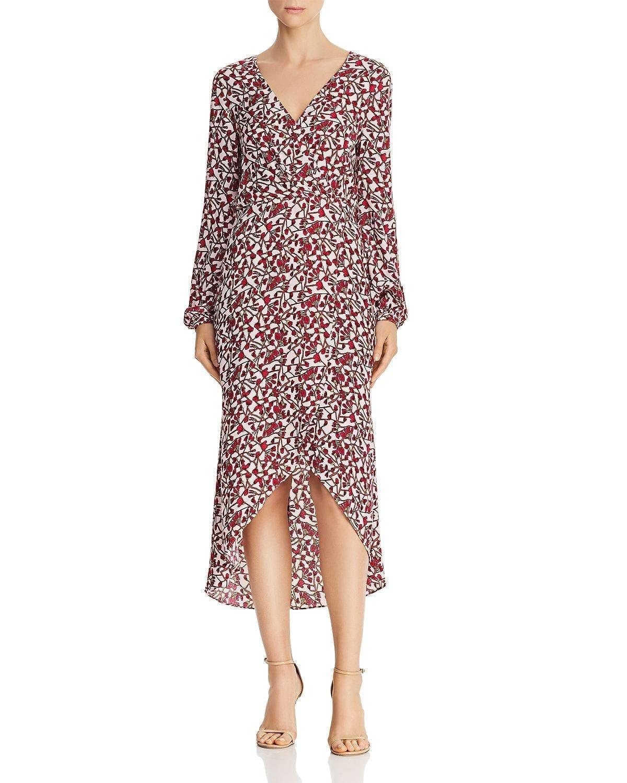 JAY GODFREY Kareem Pink / Floral Printed Dress