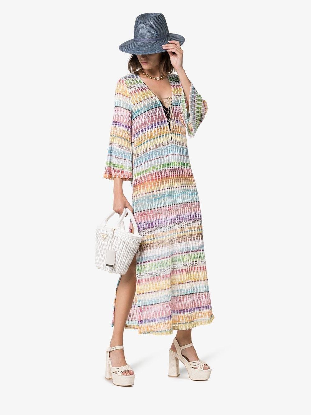 5dcfc8f5eb373 MISSONI MARE Zig-zag Kaftan Dress - We Select Dresses