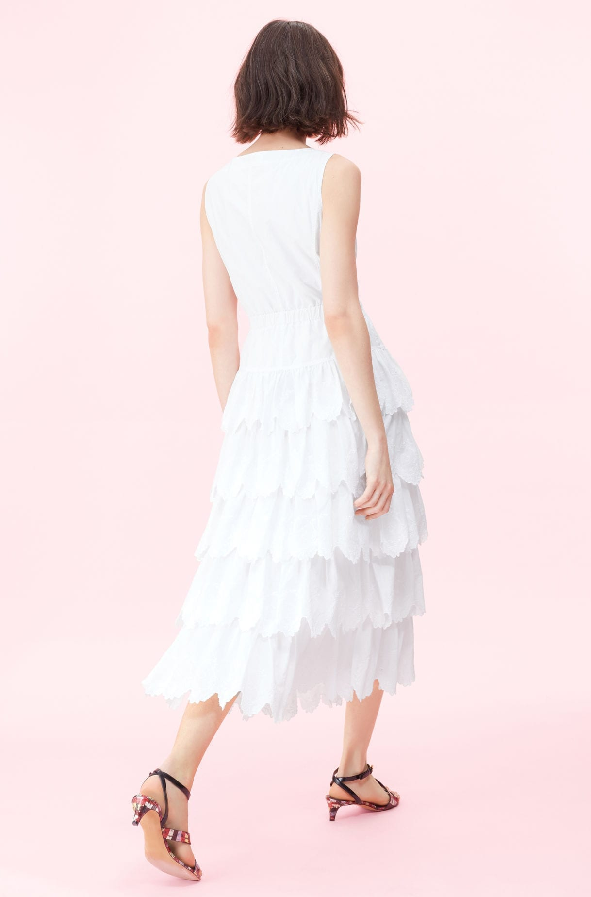 64103bbf5d REBECCA TAYLOR La Vie Mireille Embroidered White Dress - We Select ...