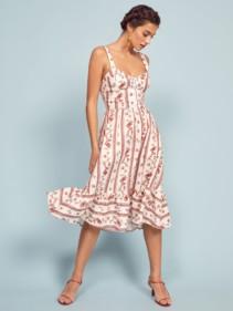 REFORMATION Dolci White Dress