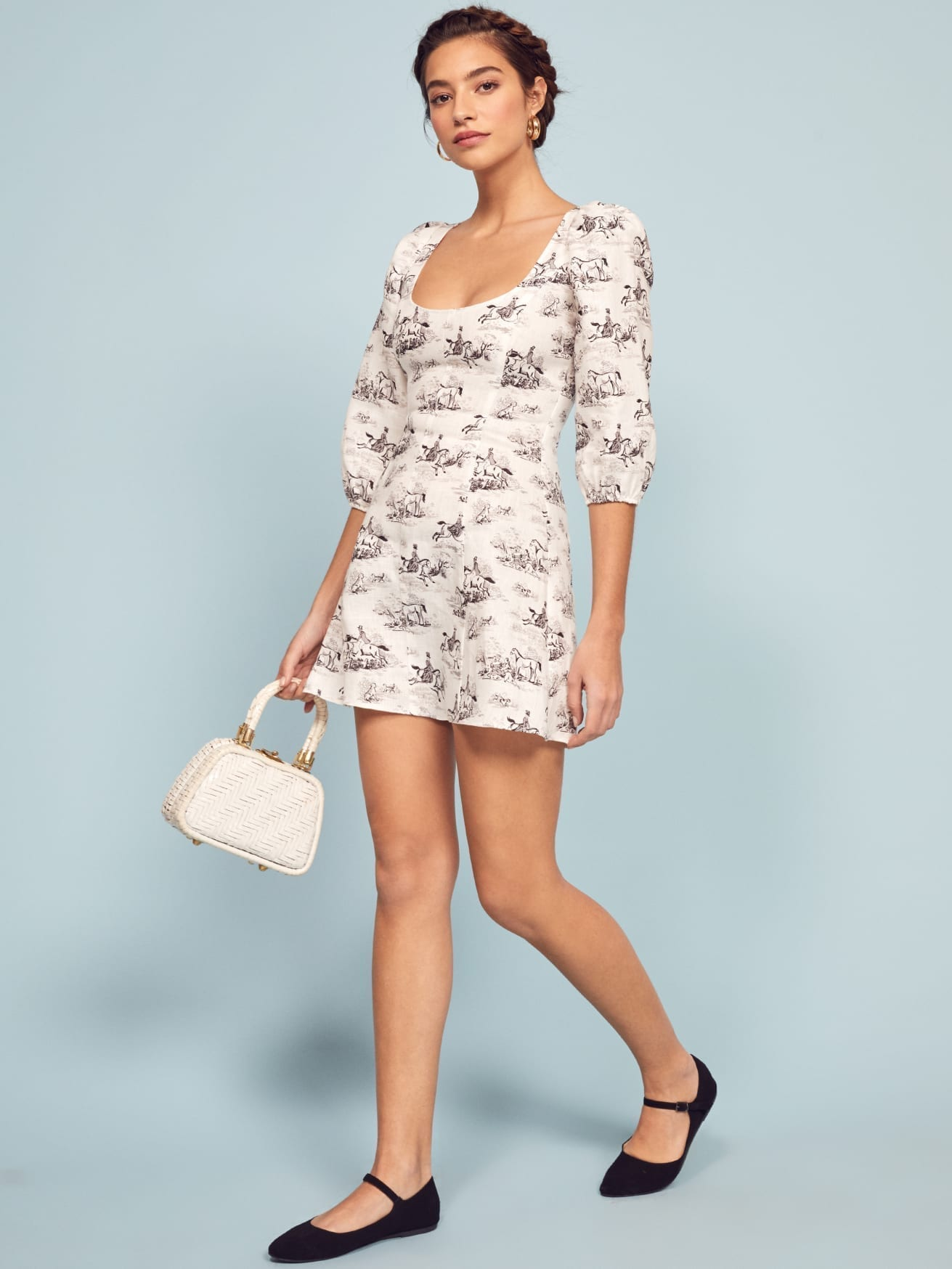 REFORMATION Maxine Ivory Dress