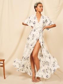 REFORMATION Winslow White Dress