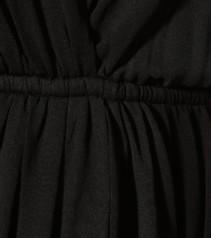 SAINT LAURENT Crêpe Mini Black Dress