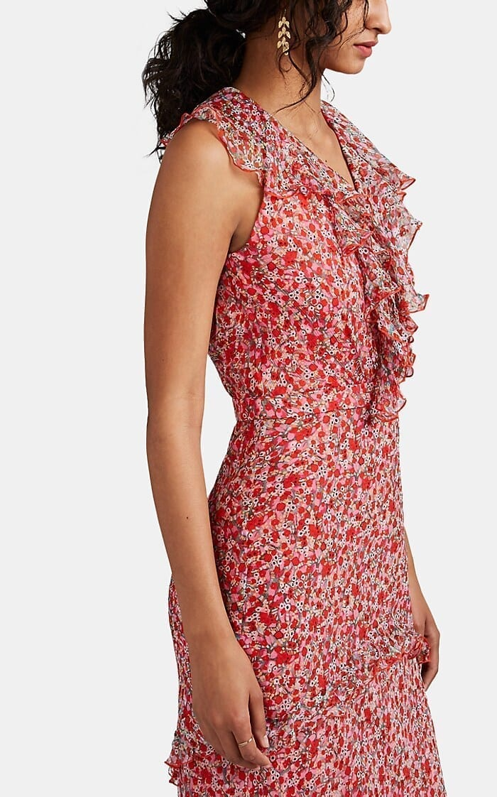 aea3988af5d9 SALONI Rita Floral Silk Maxi Red Dress - We Select Dresses