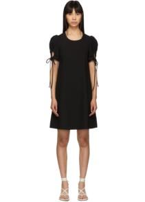 SEE BY CHLOÉ Puff Sleeve Black Dress