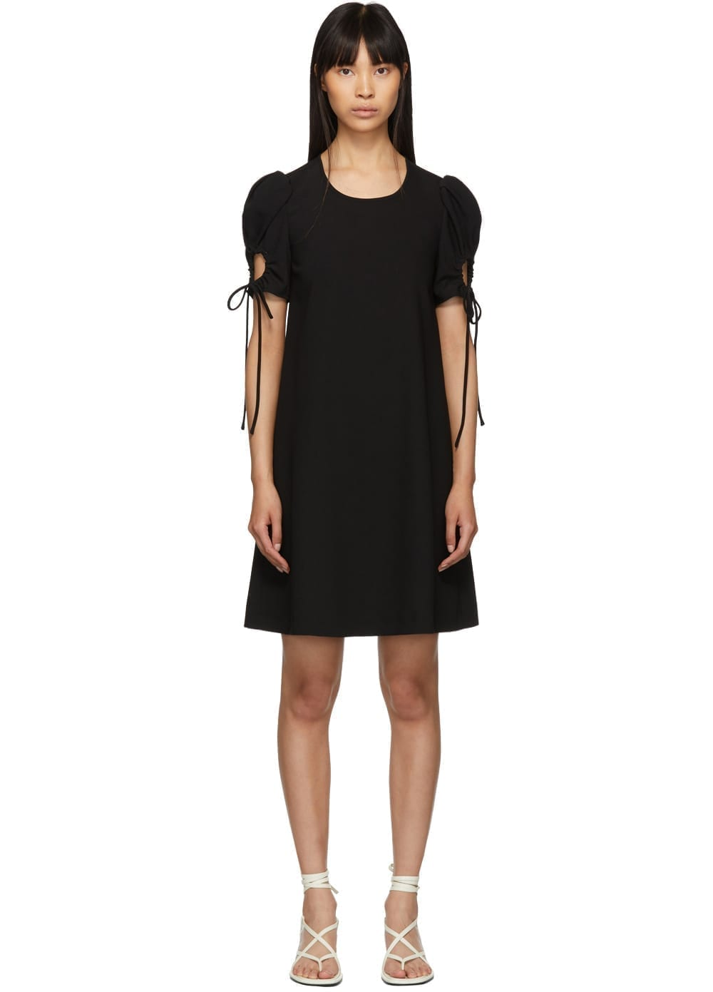 SEE BY CHLOÉ Puff Sleeve Black Dress