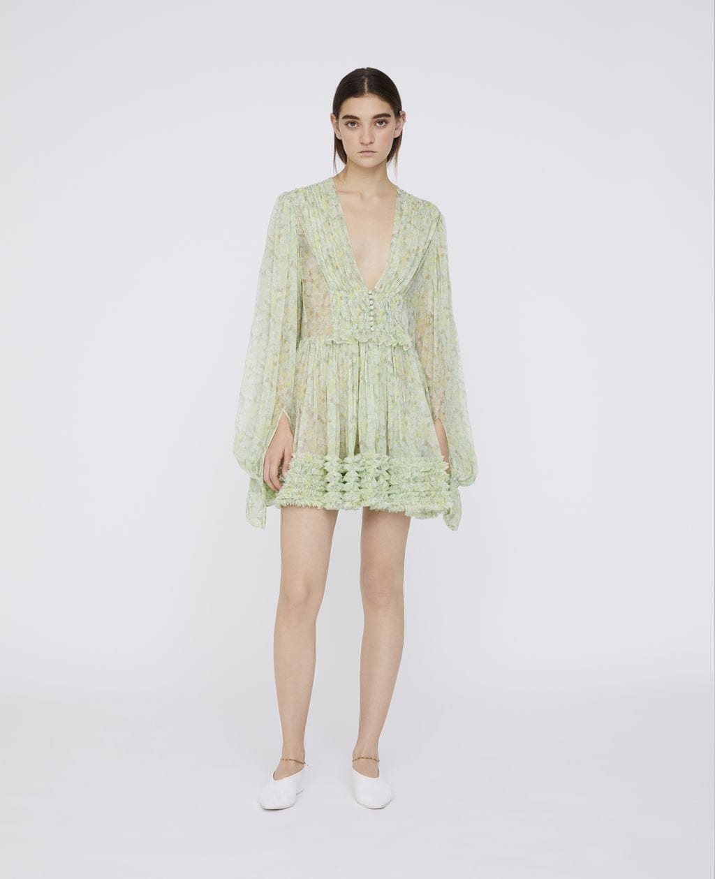 STELLAMCCARTNEY Valda Green Dress