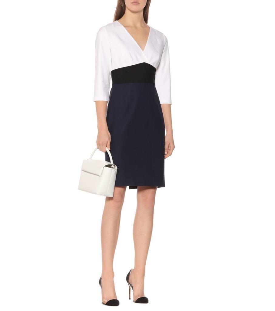 58957bf27fa62 DIANE VON FURSTENBERG Lauren Cotton-Blend Mini White Dress - We Select  Dresses