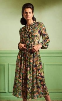 Celebs Are Obsessed With This Vintage Inspired Brand...We Select The Best Saloni Dresses