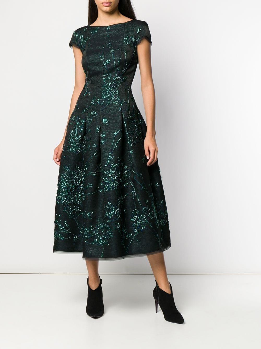 50b103aea95e4 TALBOT RUNHOF Portsmith Silk Jackquard Dress - We Select Dresses