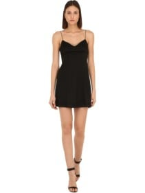 ALEXA CHUNG Embellished Jersey Mini Dress