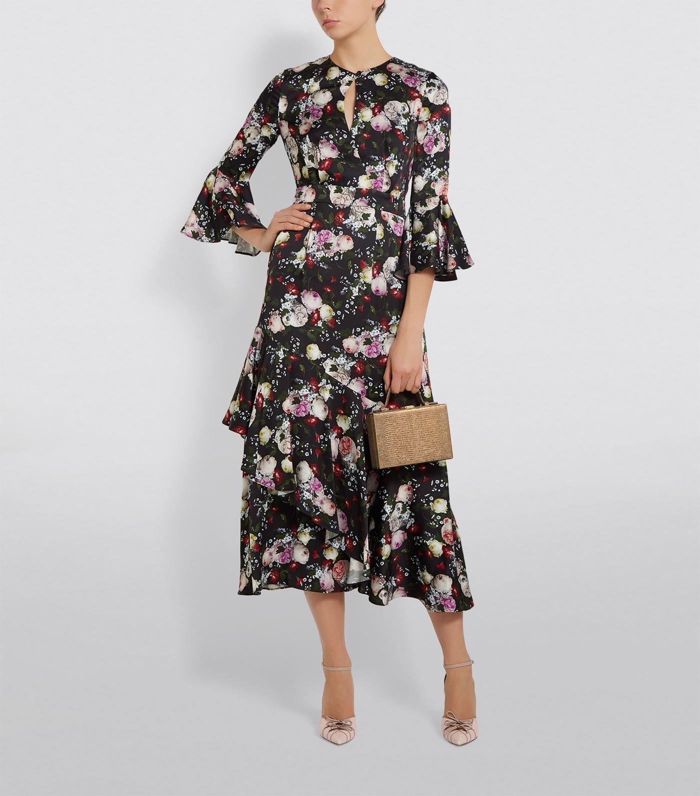 ERDEM Clarence Dream Florence Midi Dress