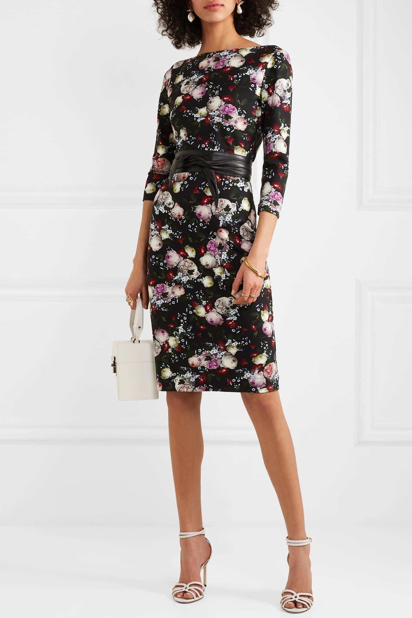ERDEM Reese Stretch-Jersey Dress