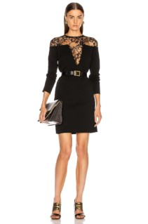 GIVENCHY Lace Mini Dress