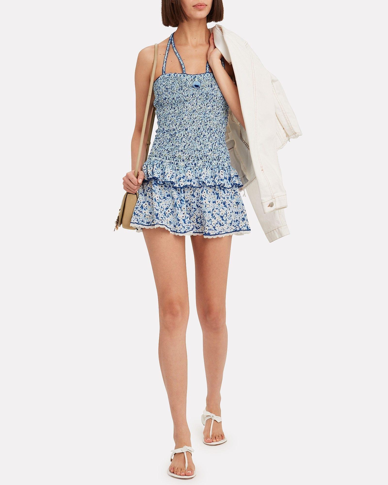 POUPETTE ST BARTH Yoana Floral Mini Dress