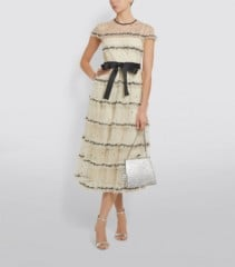 RED VALENTINO Sequin Trim Tulle Gown