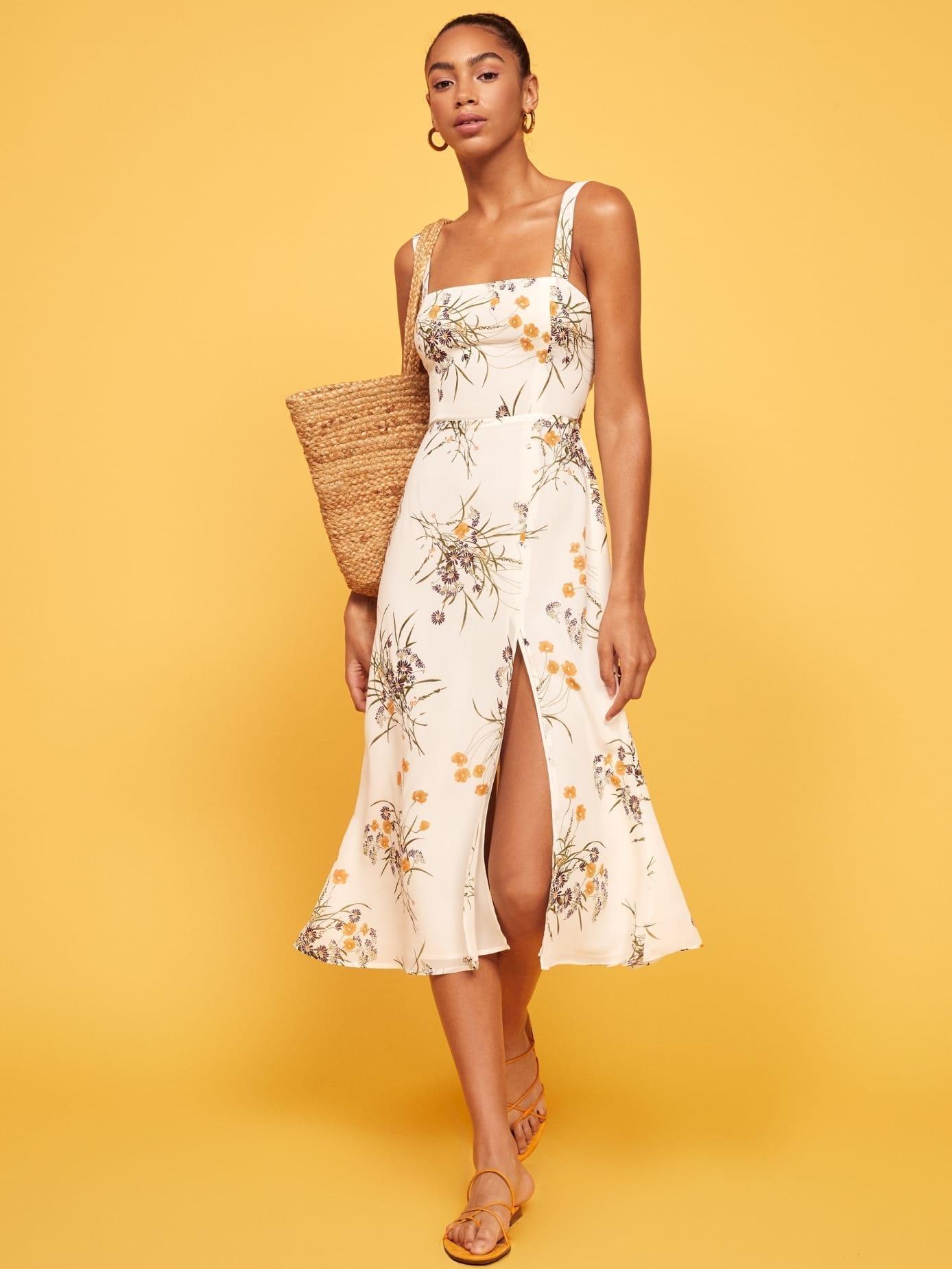 REFORMATION Nectarine Dress