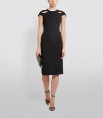 ROLAND MOURET Cut-Out Talland Pencil Dress