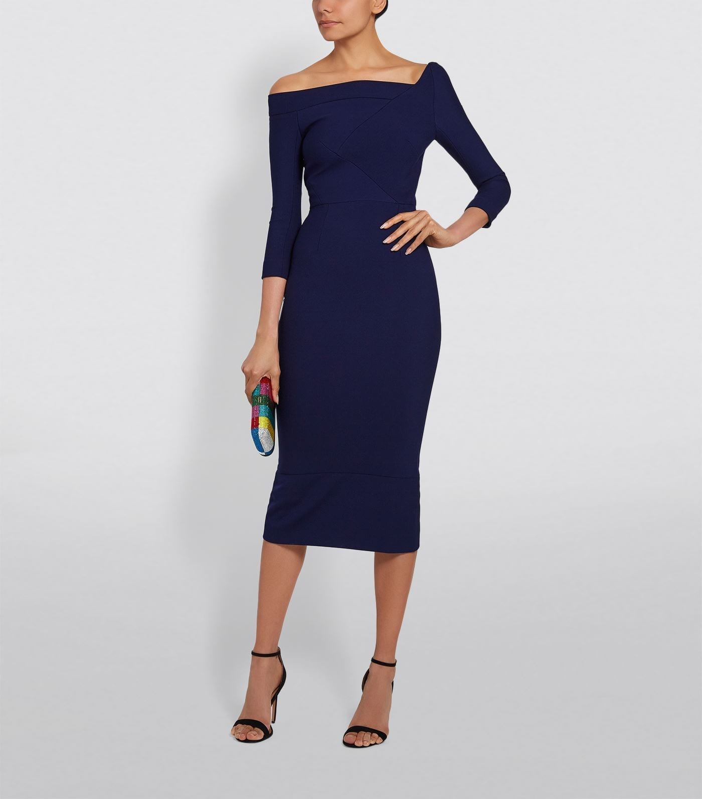 ROLAND MOURET Girtin Pencil Dress