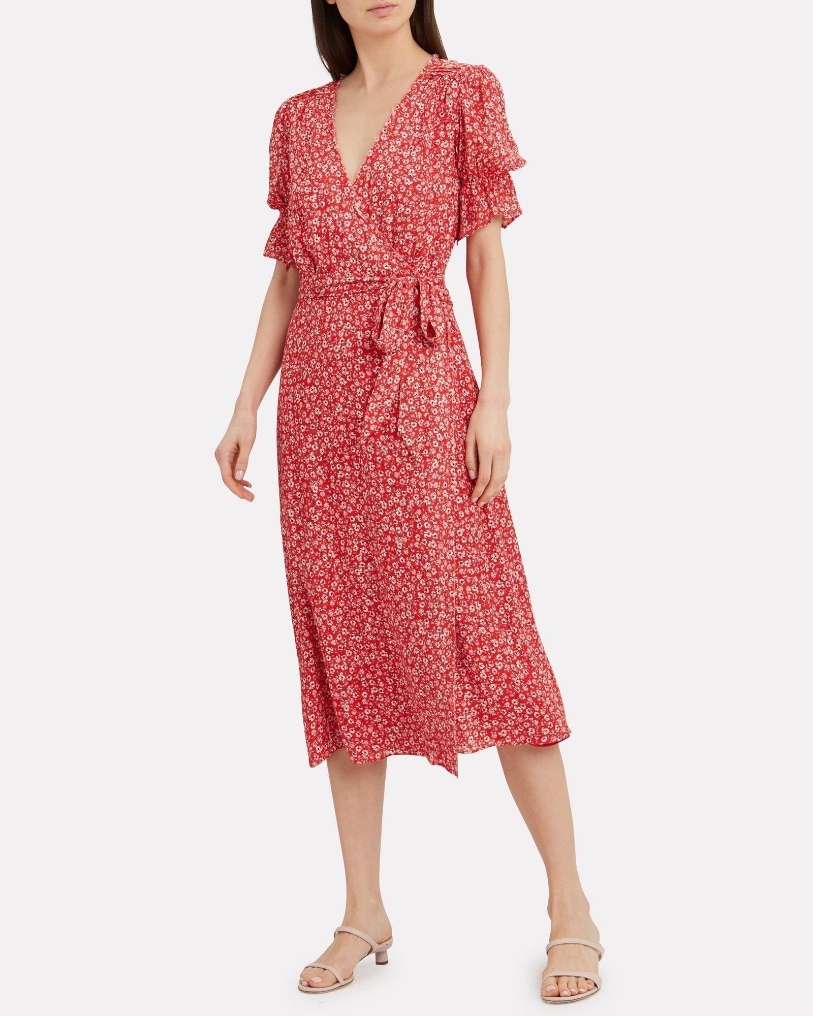 e08bfc26b652 STEVIE MAY Claret Midi Dress - We Select Dresses