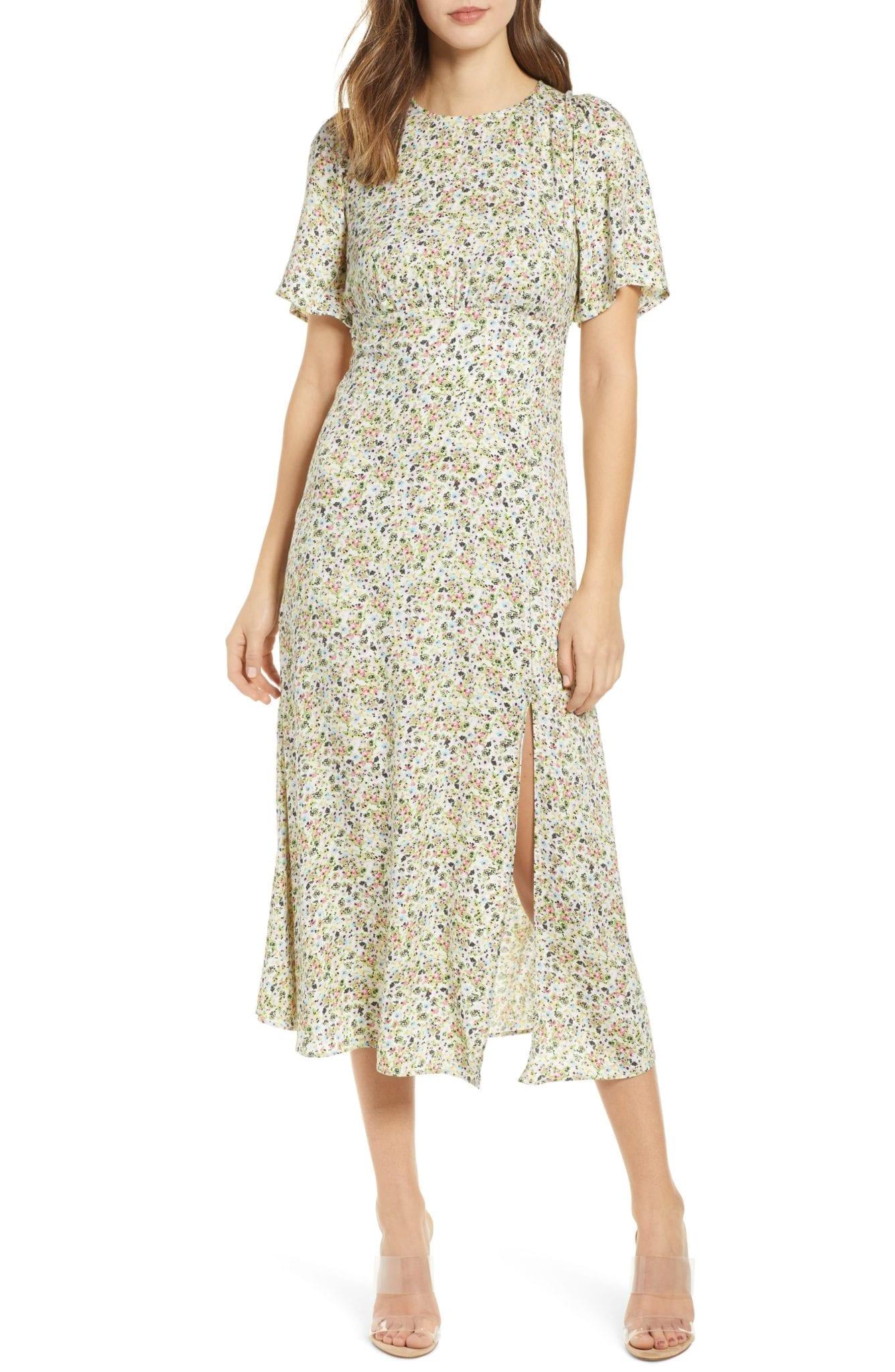 AFRM Janice Midi Dress