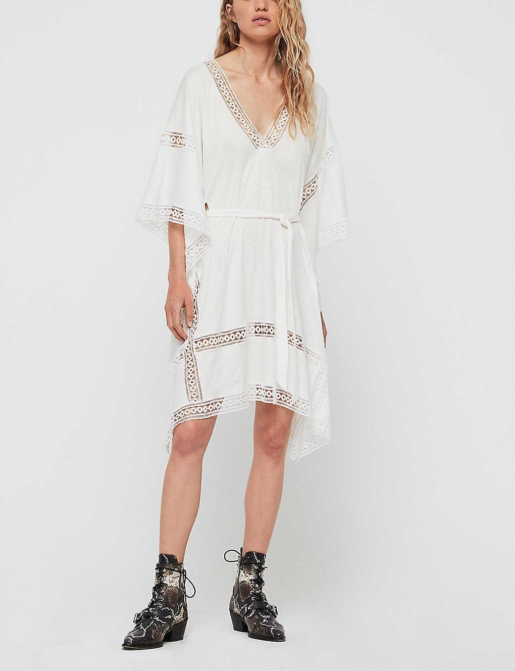 ALLSAINTS Trine Cover-up Cotton Dress