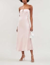 BERNADETTE Florence Silk Dress