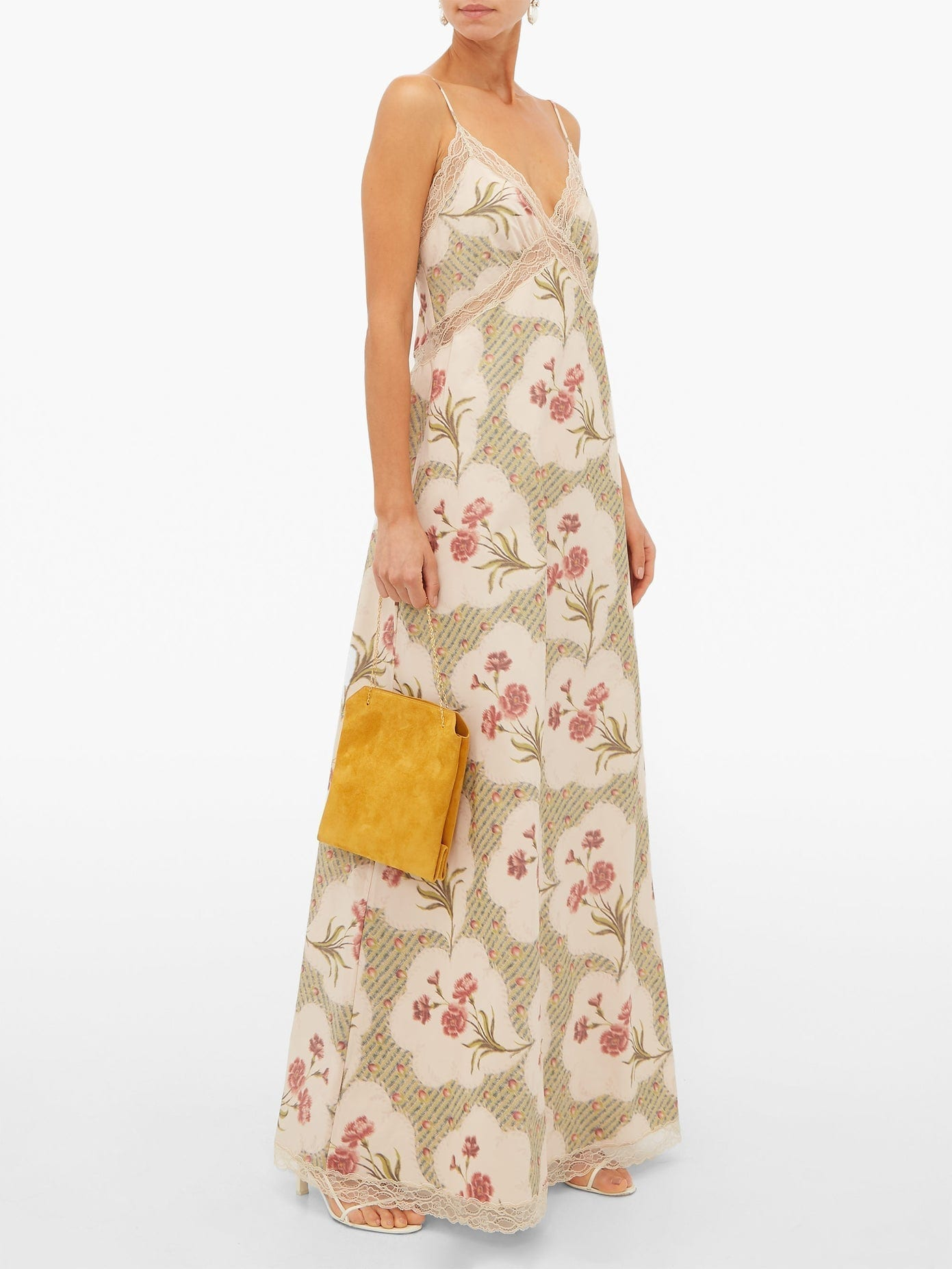 BROCK COLLECTION Onorino Floral-Print Cotton-Blend Gown