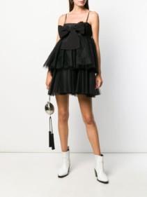 BROGNANO Tulle Mini Dress