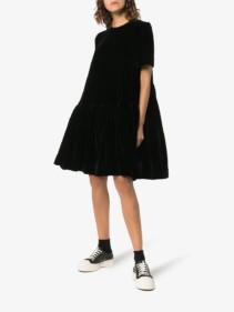 CECILIE BAHNSEN Flared Hem Midi Dress