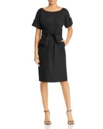 DONNA KARAN NEW YORK Tie-Waist Shirt Dress