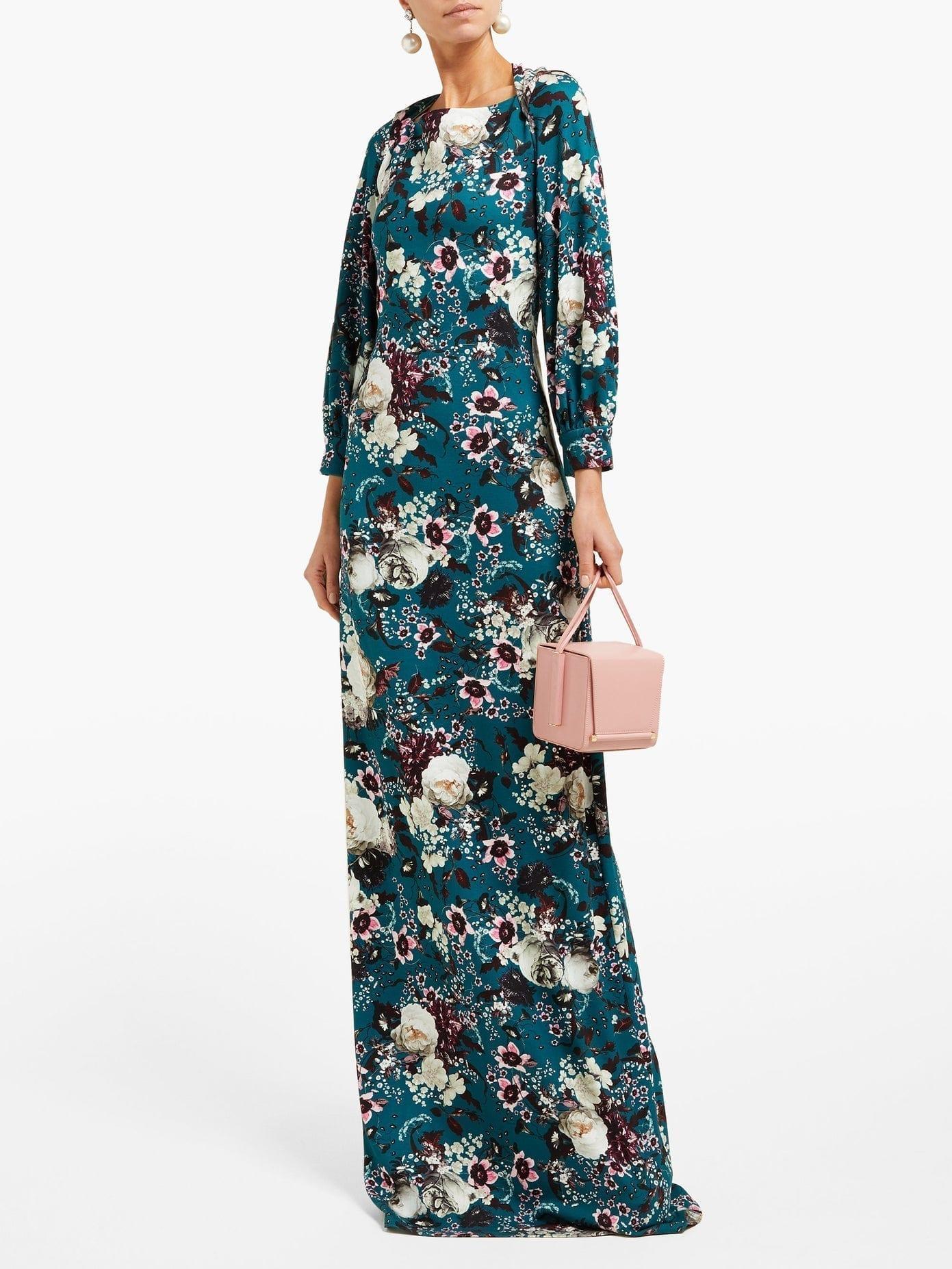 ERDEM Etheline Eastbury Floral-print Gown