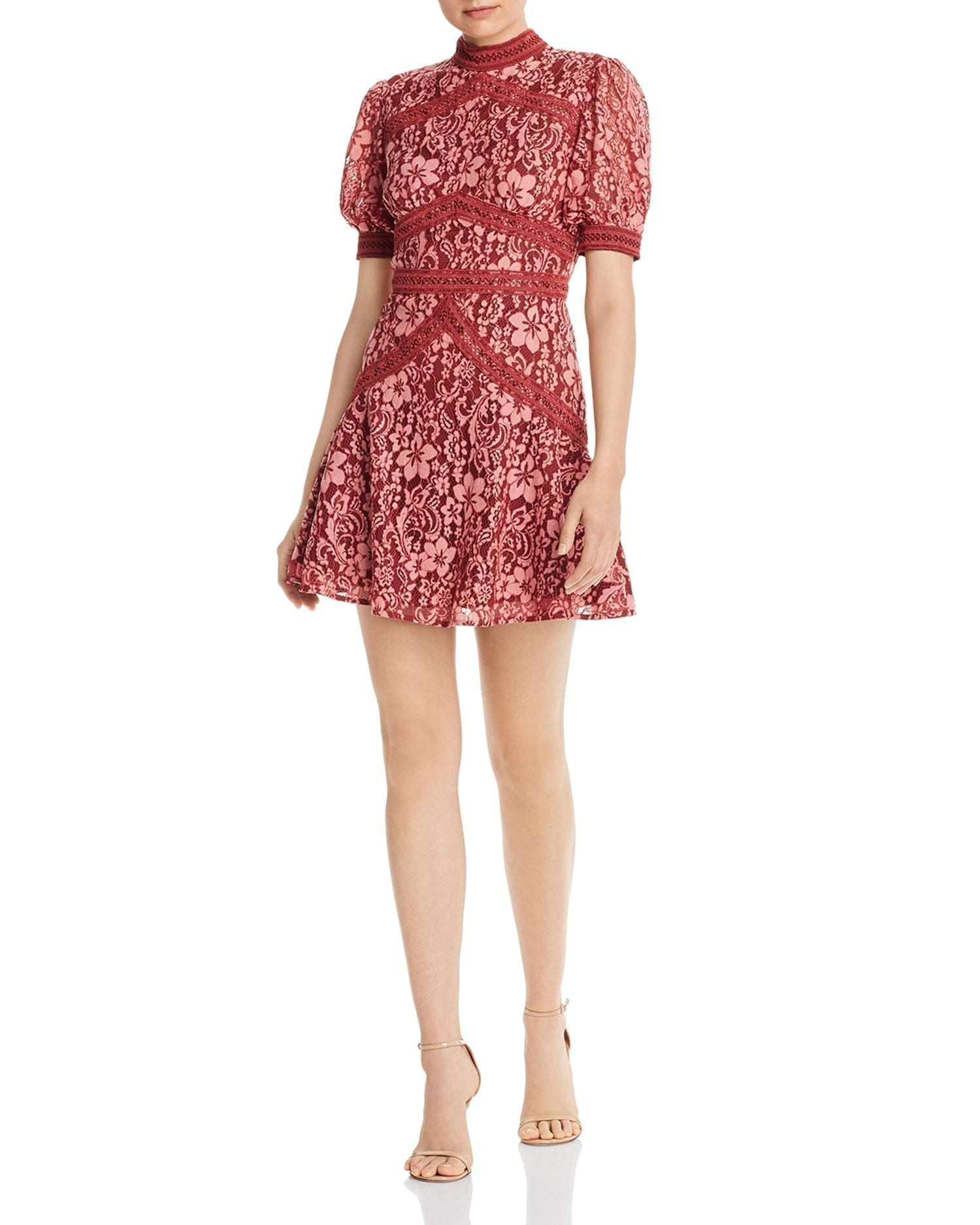 KEEPSAKE Holder Lace Mini Dress